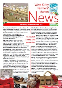 Newsletter Dec 2015