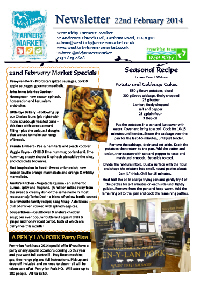 Newsletter Feb 2014