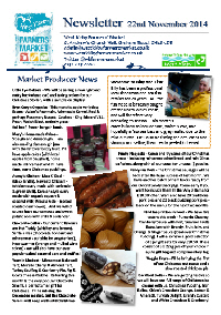 Newsletter Nov 2014