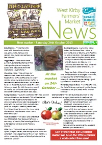 Newsletter October 2015